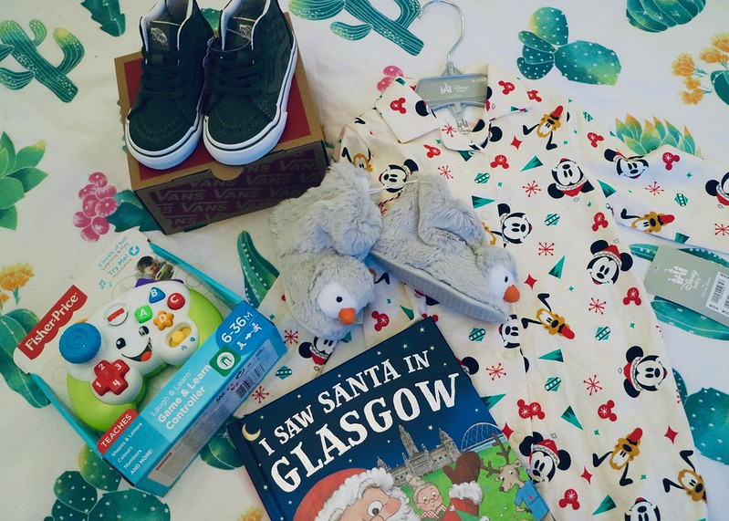 Baby's first Christmas presents