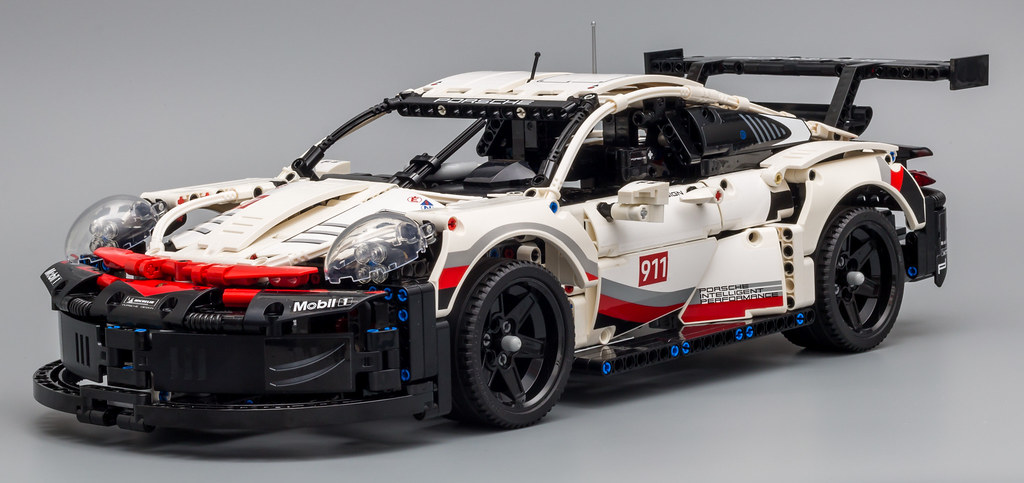 review 42096 porsche 911 rsr lego technic and model. Black Bedroom Furniture Sets. Home Design Ideas