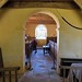 013-20180927_Little Washbourne Church-Gloucestershire-view from Sanctuary through Chancel Arch and down Nave to W end of Church