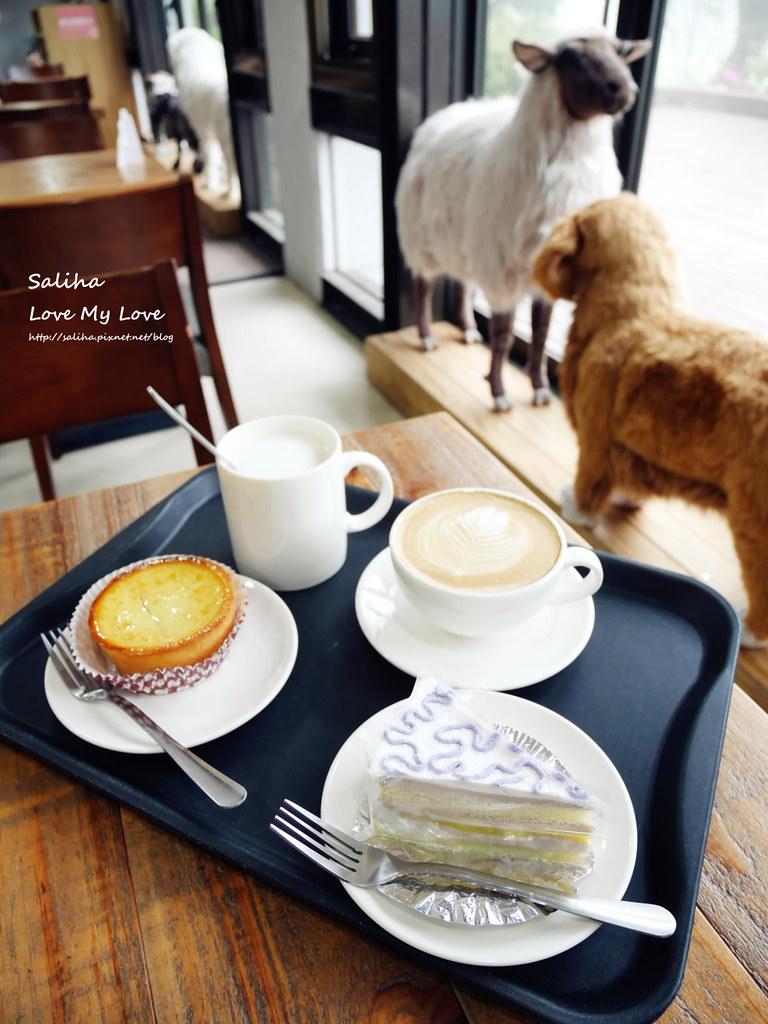 台北陽明山遊客服務中心七星山苗圃附近不限時間咖啡廳咖啡館下午茶推薦石尚自然探索屋 (1)