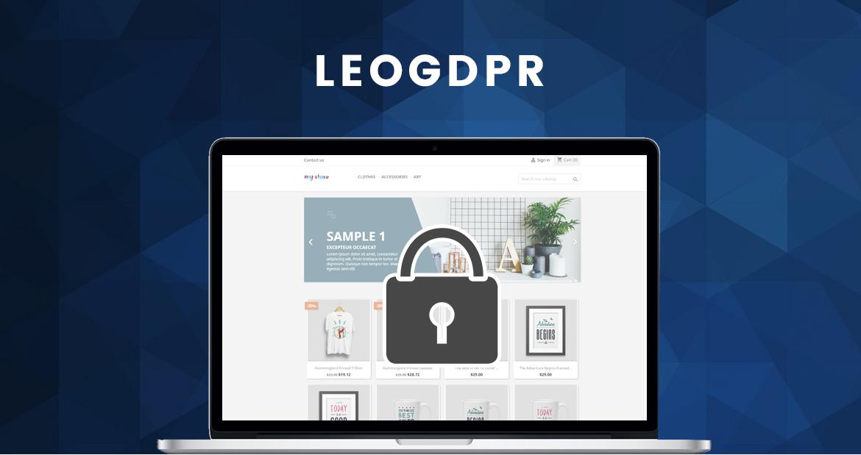 leo gdpr module - prestashop 1.7 module