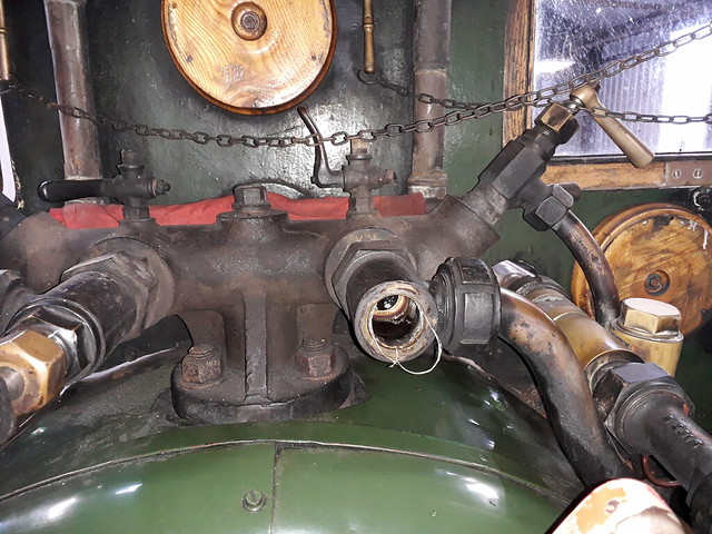 Injector Steam Valve Stuffing Box & Spindle Removed