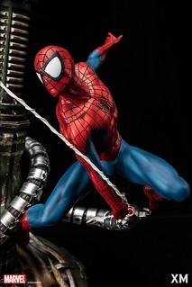 與宿敵們戰鬥的緊張時刻立體化!! XM Studios Premium Collectibles 系列 Marvel【蜘蛛人】Spider-Man 1/4 比例全身雕像作品