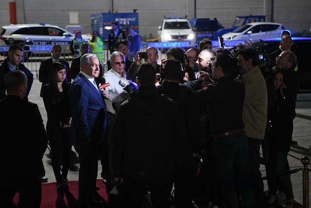 PM Netanyahu Leaves for, Nikon D850, AF-S Nikkor 24-70mm f/2.8E ED VR