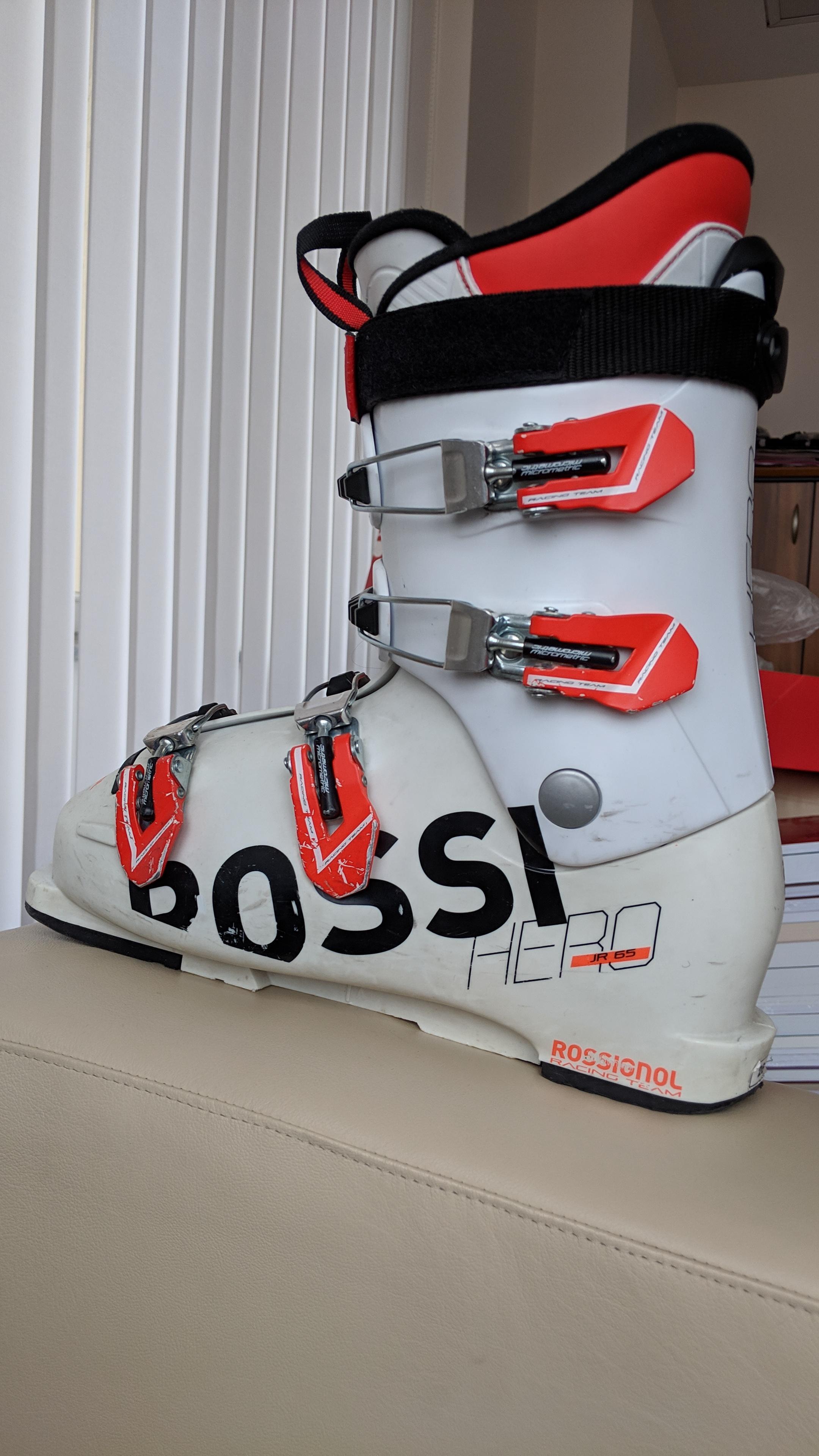 Boty Rossignol HERO JR 65 (velikost 260) - Bazar - SNOW.CZ 497a8592f3