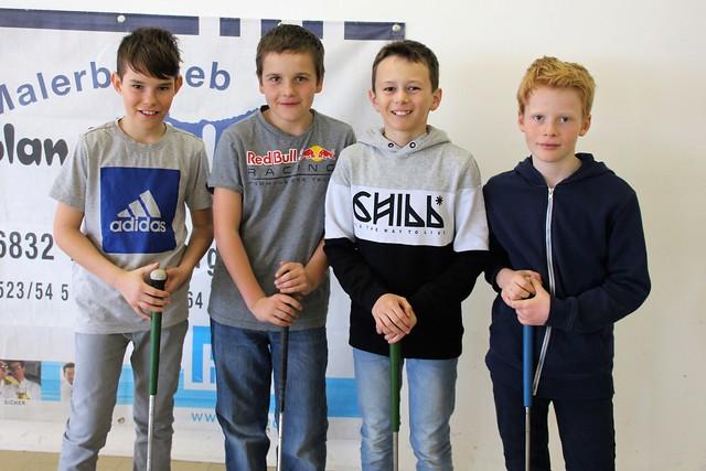 Musikschüler aus Weiler entdecken Minigolf