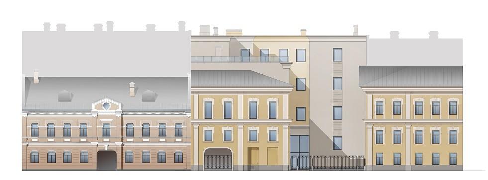 Университетская фасад Академический - 2