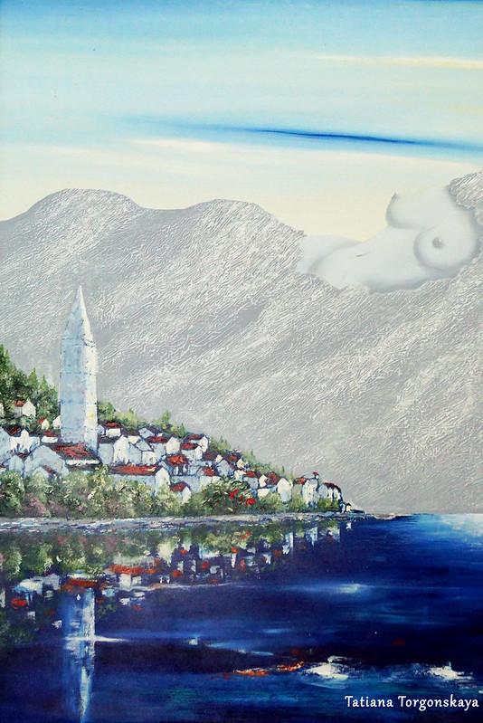 """Джуро-Бели Прийич """"Два перастских острова"""""""