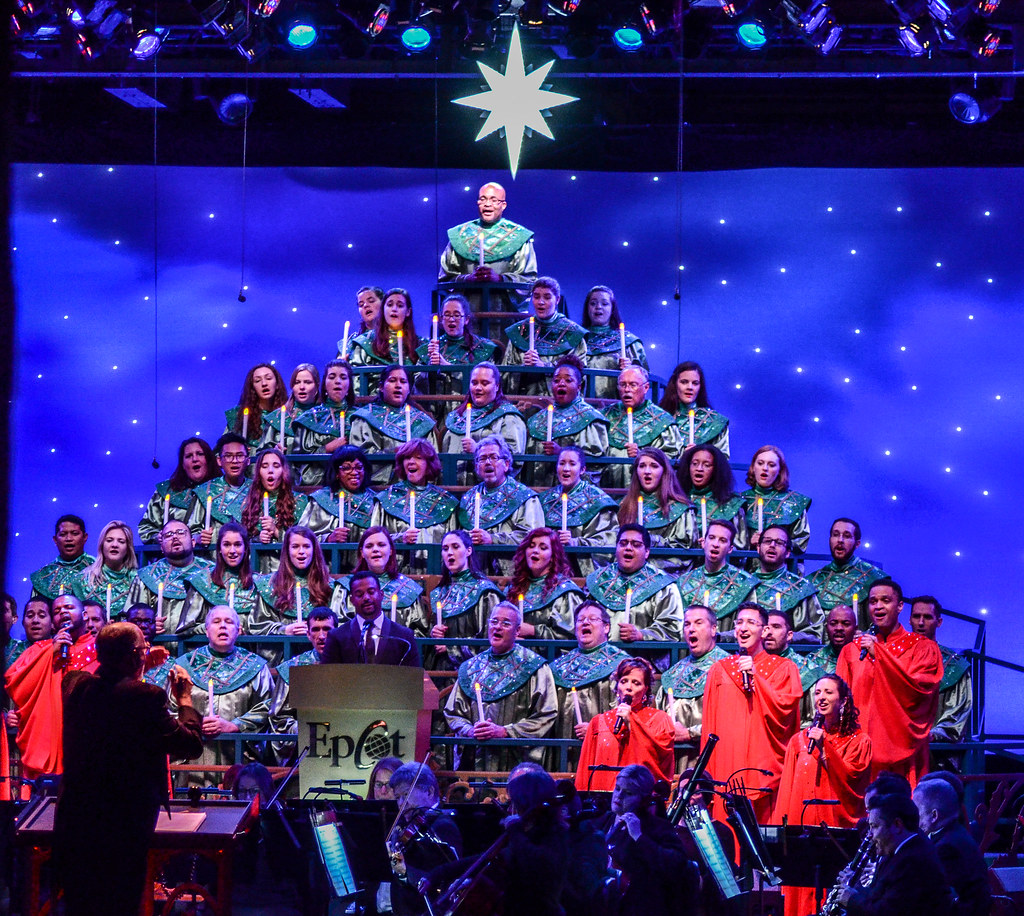 Candlelight Processional middle choir Epcot