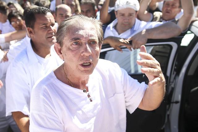 *O médium João de Deus foi indiciado por violação sexual mediante fraude e está preso desde 16 de dezembro de 2018 (Foto: Marcelo Camargo/Agência Brasil)*