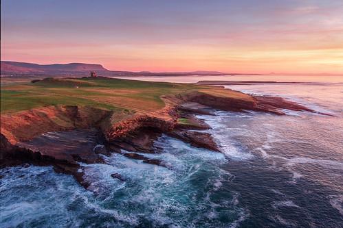 Sunset at Knocknafaugher - Co. Sligo