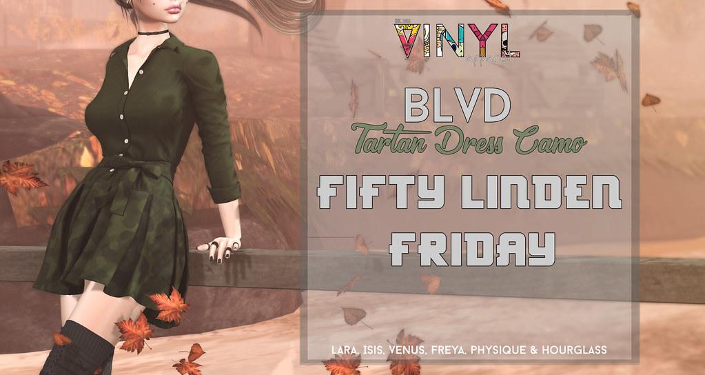 Vinyl – Fifty Linden Friday