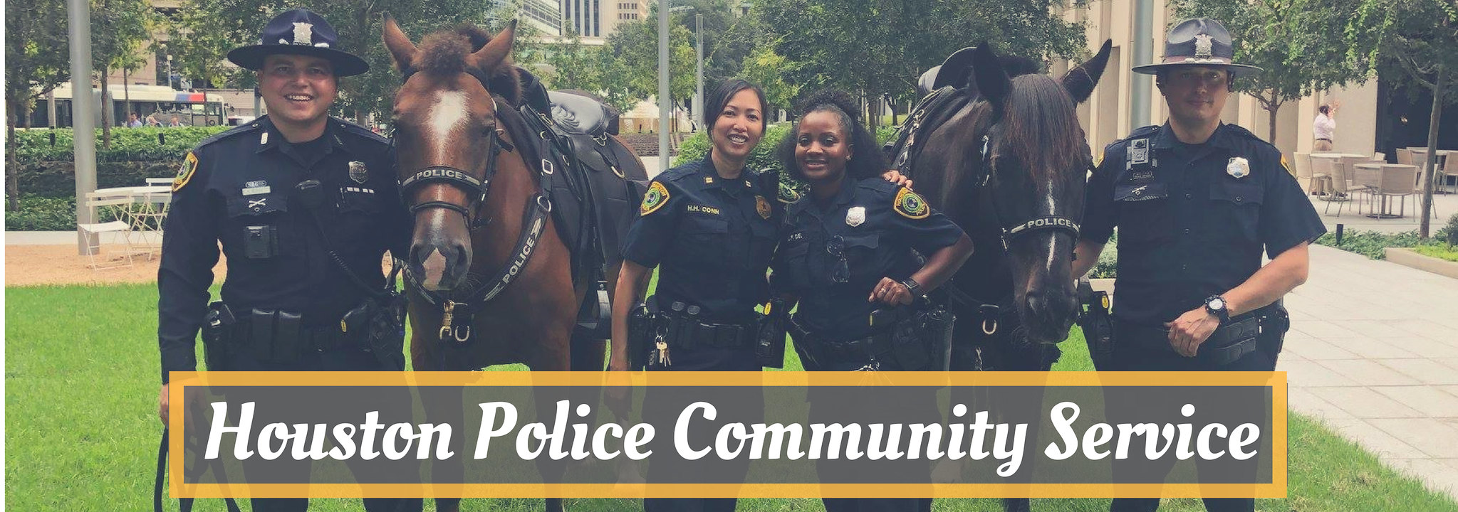 Houston Police Community Blog
