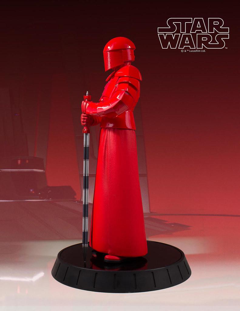 Gentle Giant《STAR WARS:最後的絕地武士》菁英禁衛軍 Praetorian Guard 1/6 比例全身雕像作品