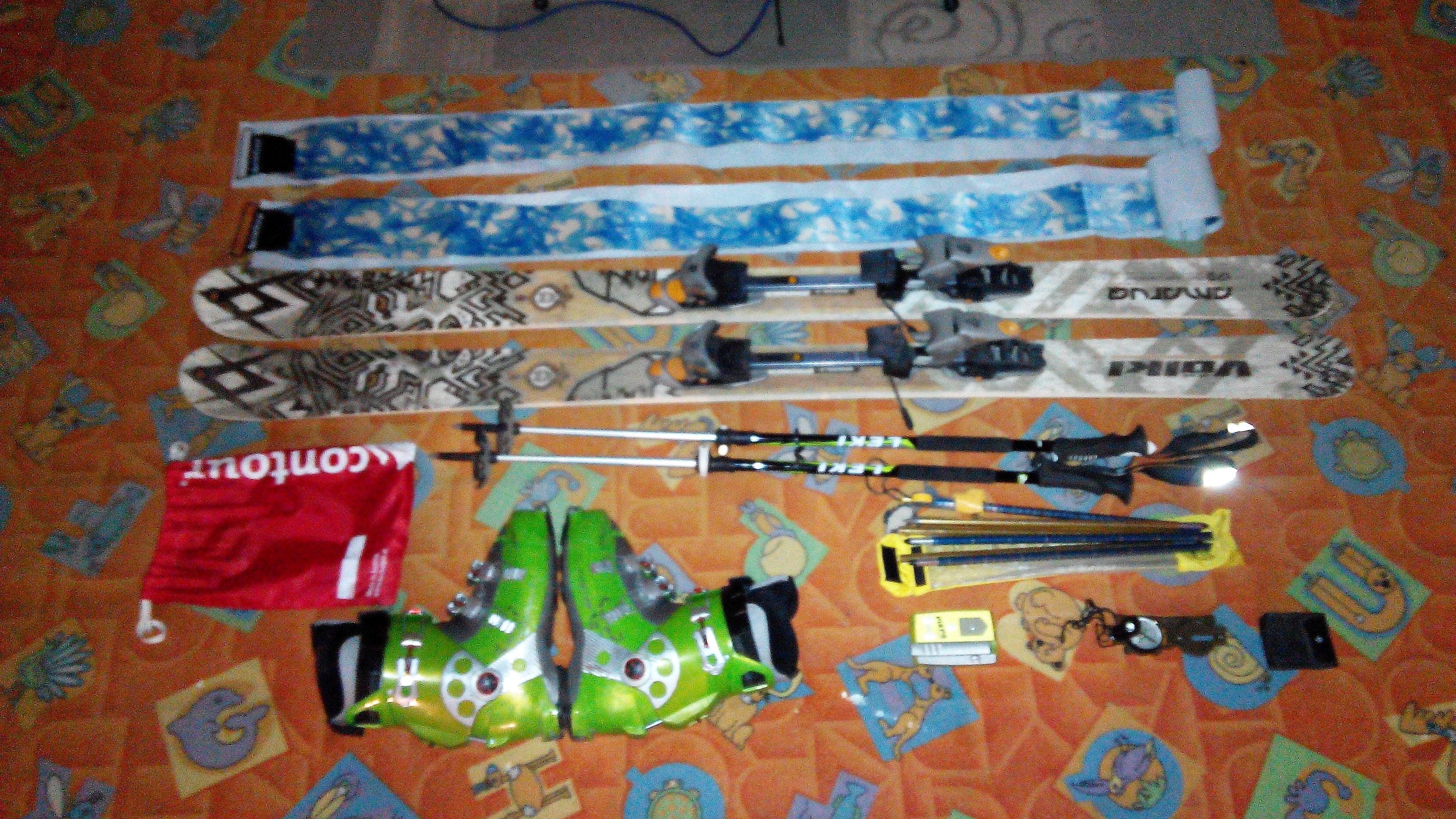 ... Skialp   freeride - kompletní set (Volk Amaruq) - fotka 3. Prodám  skialpinistické ... 4cf483410ca