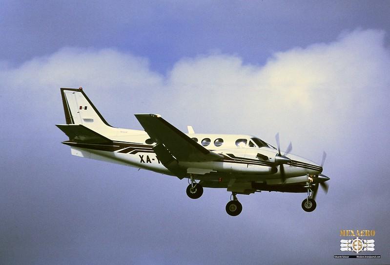 Aerolíneas Ejecutivas / Beech C90B King Air / XA-YAS