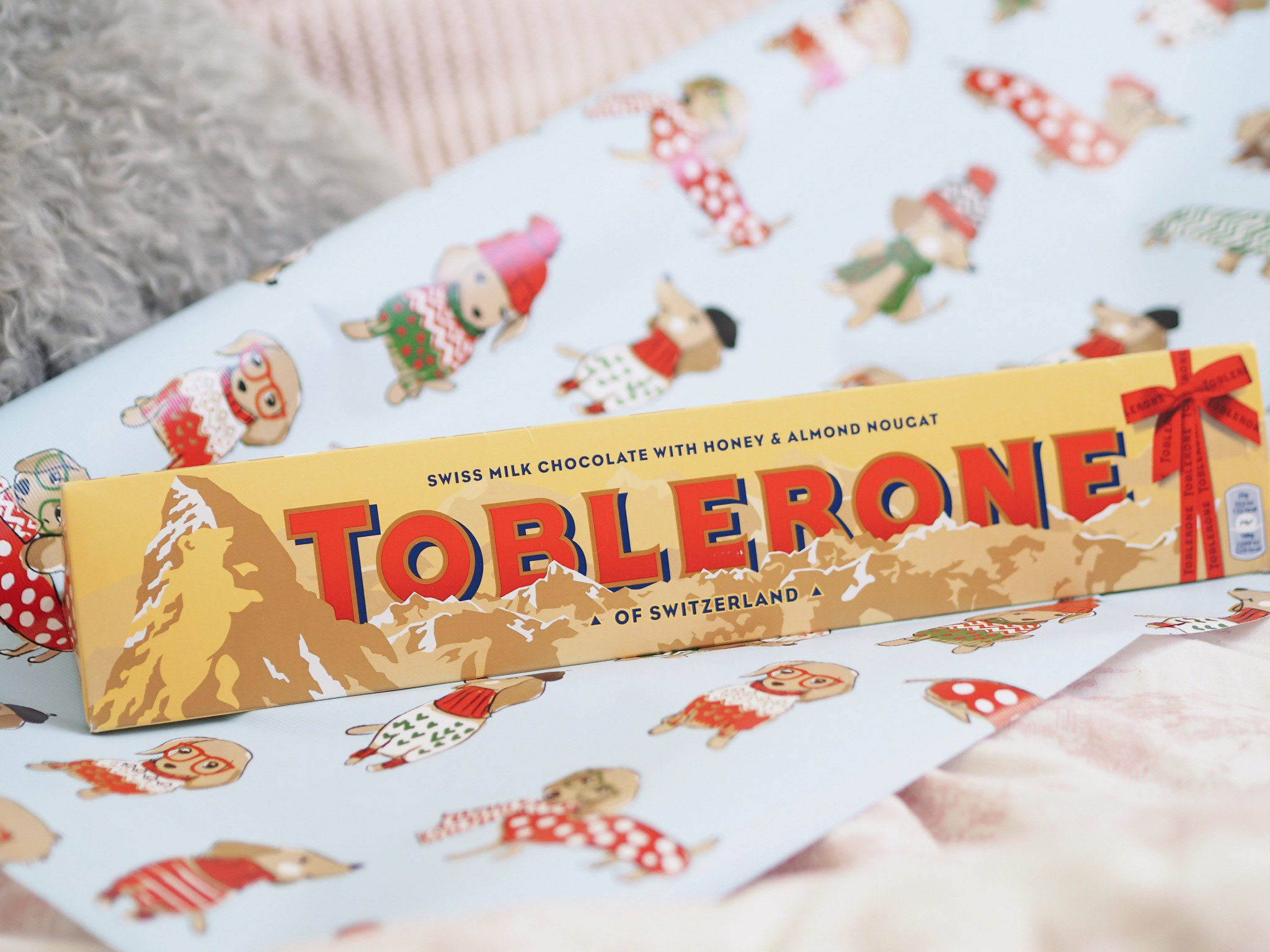 Christmas gifting with Toblerone
