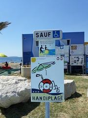 Label Handi plage pour la plage du Jaï