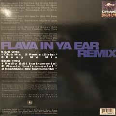 CRAIG MACK:FLAVA IN YA EAR - REMIX(JACKET B)