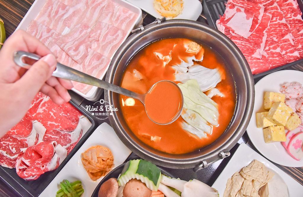 台中壽喜燒 吃到飽 北澤 和牛 公益路09