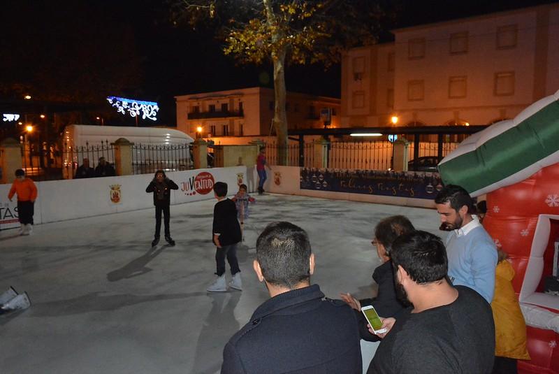 inaugura pista patinaje1