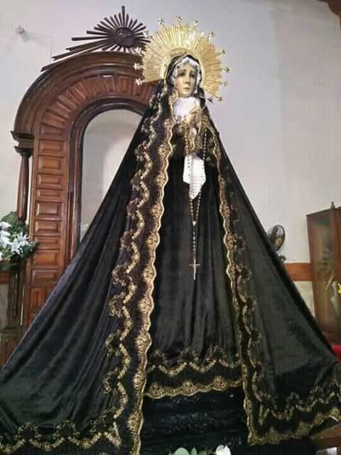 Ntra. Sra. de la Soledad, Parroquia de Santiago Tuxtla, Ver.