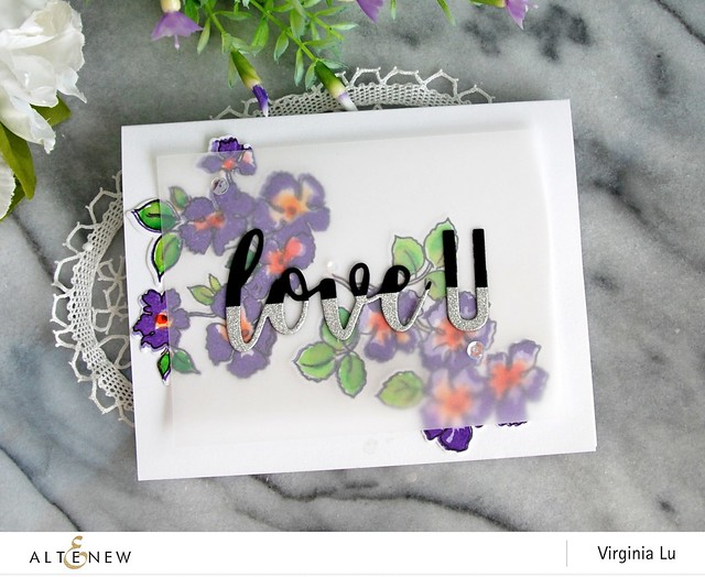 Altenew-RuffledFlowersStampDie-Virginia#9