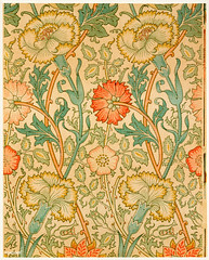Pink and Rose by William Morris (1834-1896). Original from The MET Museum. Digitally enhanced by rawpixel.