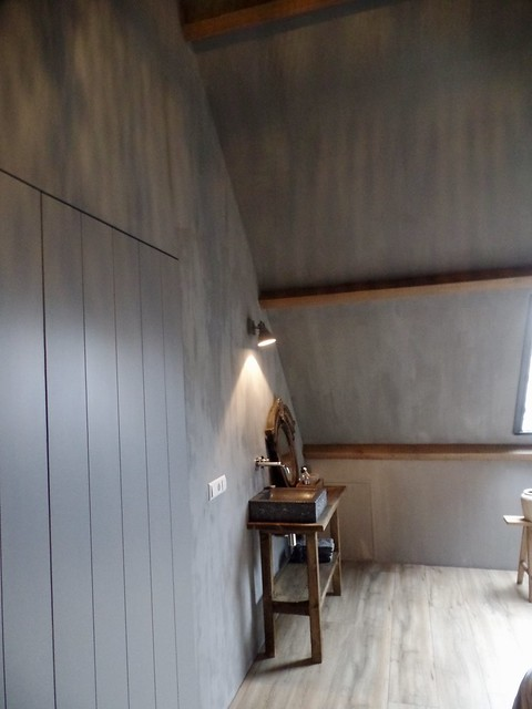 Slaapkamer kalkverf landelijk
