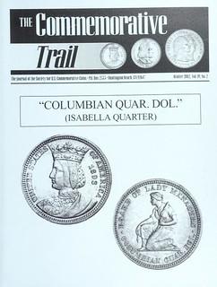 The Commemorative Trail Winter 2002 cover