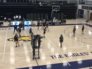 WHCL Volleyball vs Columbia (Student Perspective)