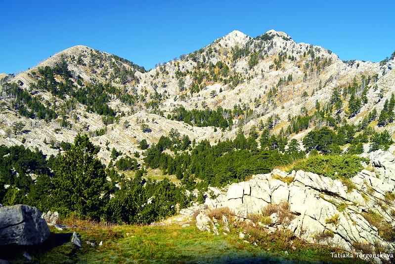 Вид в сторону вершины Велики Кабао