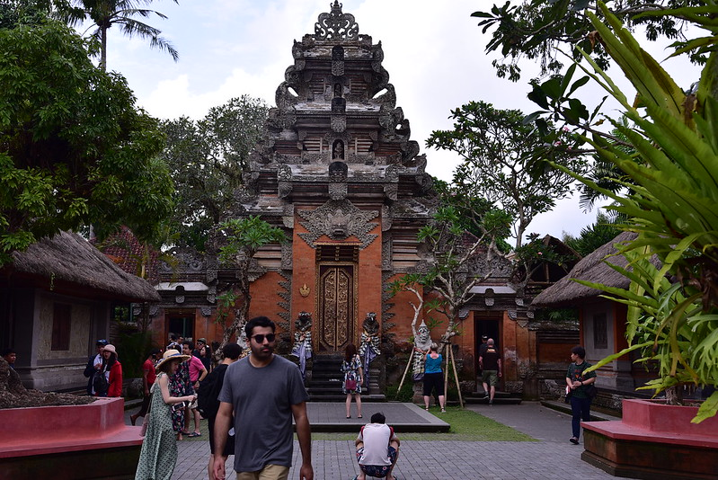 Last stop in Bali- the Ubud Palace