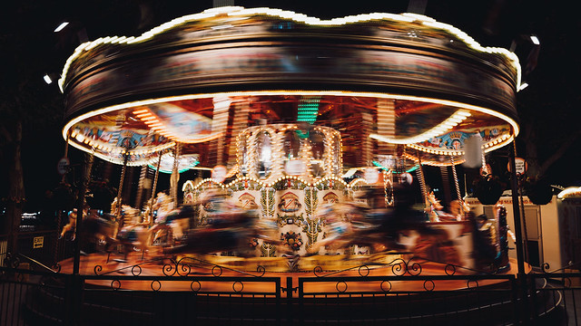 The Golden Carousel, Fujifilm X-T100, XC15-45mmF3.5-5.6 OIS PZ