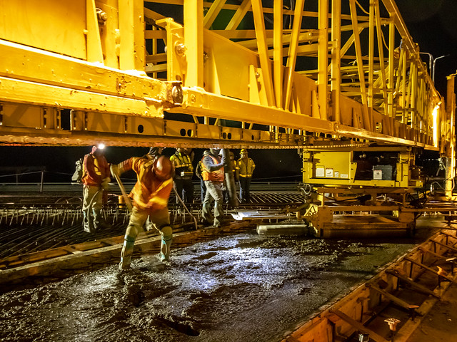 I-10, Earley Road to I-8 Deck Pour_121218