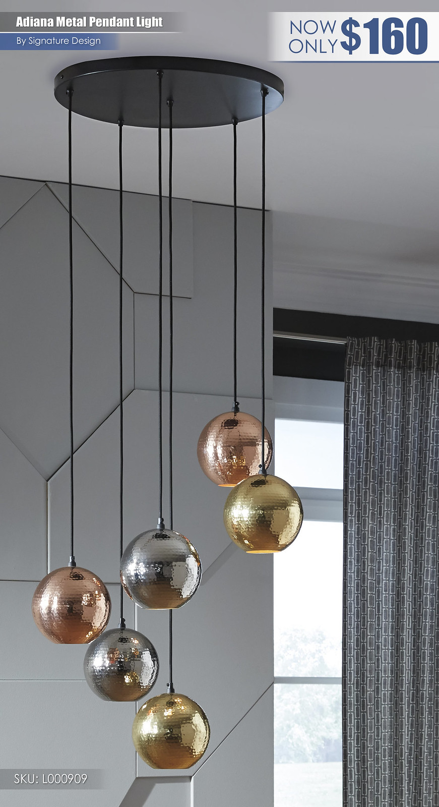 Adiana Metal Pendant Light_L000909