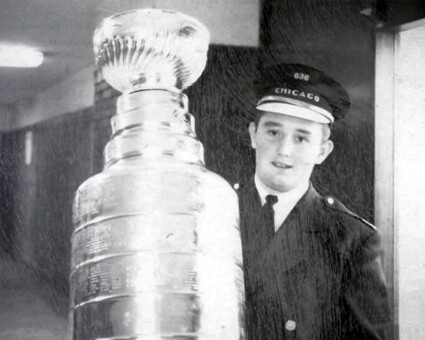 Roy Perell saves the Stanley Cup from being stolen by Ken Kilander