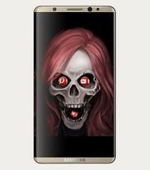 #akıllıtelefon #smartphone #internet #sosyalmedya #dijitalmedya #socialmedia #digitalmedia #bağımlılık #addiction #dependency #dependance #kurukafa #skull #crane