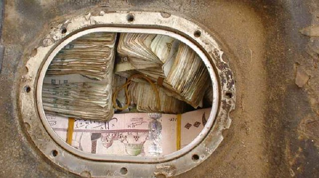 4847 Saudi Authorities recovered SR 4.5 million hidden inside the fuel tank of a vehicle 01