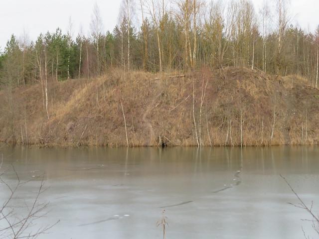 Kopraurg. Fosforiidimaa / Phosphate Rock mining area in Estonia