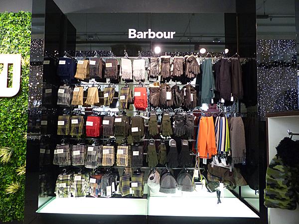 écharpes Barbour