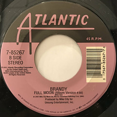 BRANDY:WHAT ABOUT US?(LABEL SIDE-B)