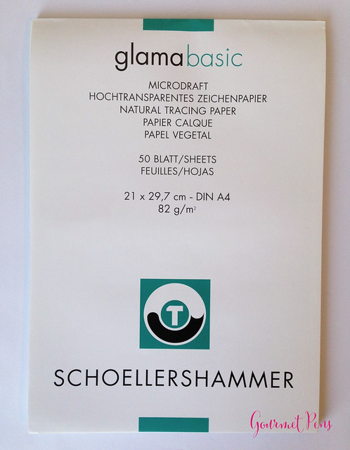 Glamabasic Schoellershammer Microdraft Tracing Paper 1