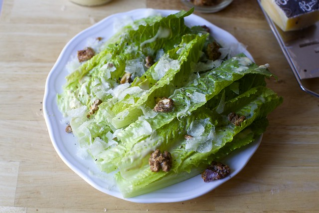 roberta's roasted garlic caesar