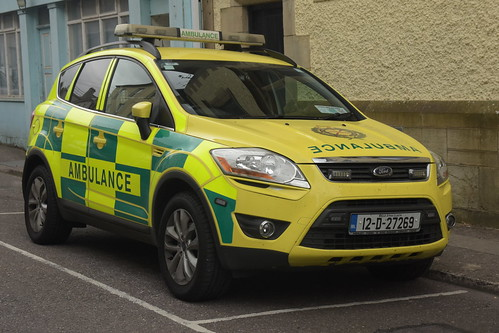National Ambulance Service 2012 Ford Kuga Primo CW RRV 12D27269