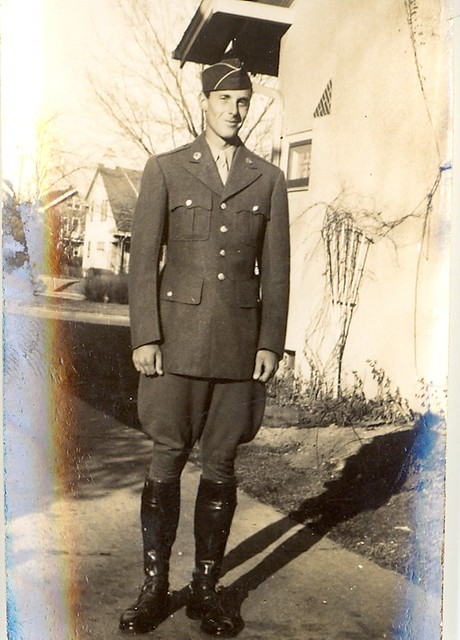 Richard Grossenbach in his cavalry uniform, 1942. Remembering my uncle and namesake on the 100th anniversary of his birth, November 22, 1918.