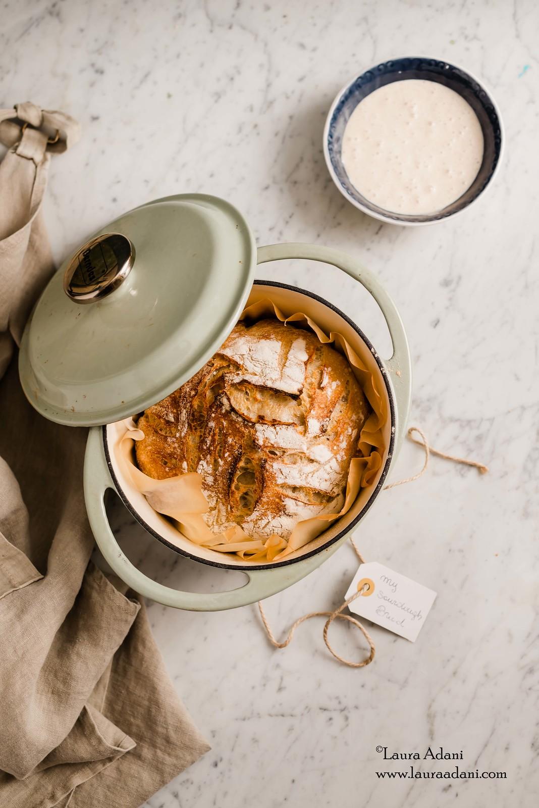 Pane a lievitazione naturale - sourdough bread