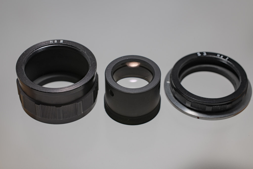 NIKON Infinity-Corrected Objectives MXA20696 +Extension tube