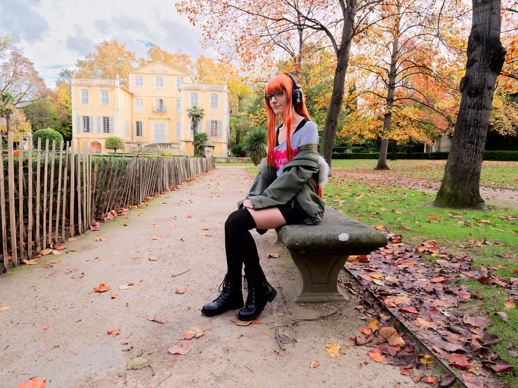related image - Shooting Persona 5 - Futaba Sakura - Jardin de la Magalone -2018-11-10- P1388582