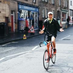 Parliament Pedlar - No Hands Cycling